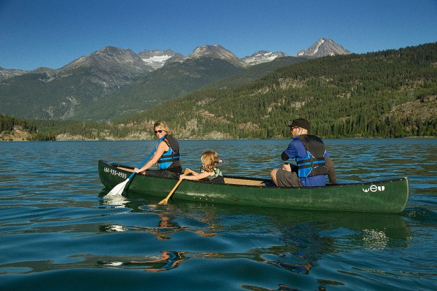 Alta Lake or Green Lake Paddle