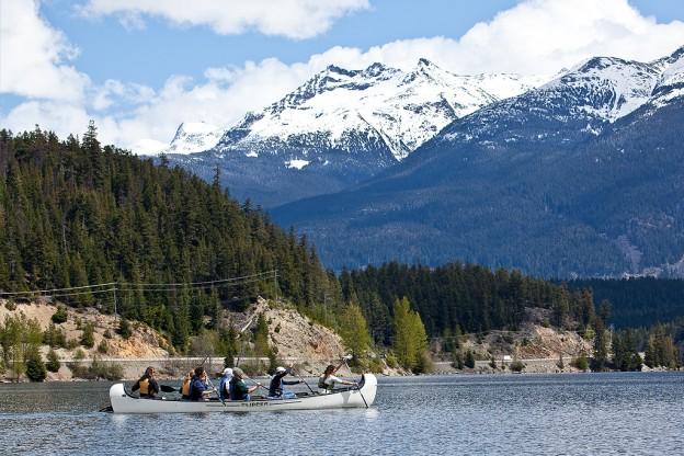 9 passenger Voyageur Canoe