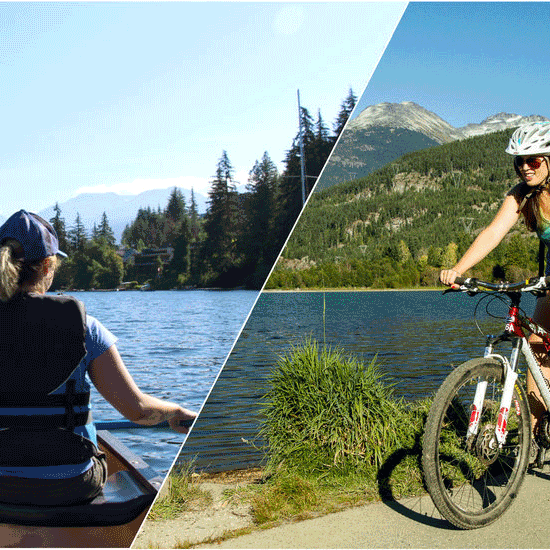 15% off Alta Lake Paddle and Pedal Combo in Whistler