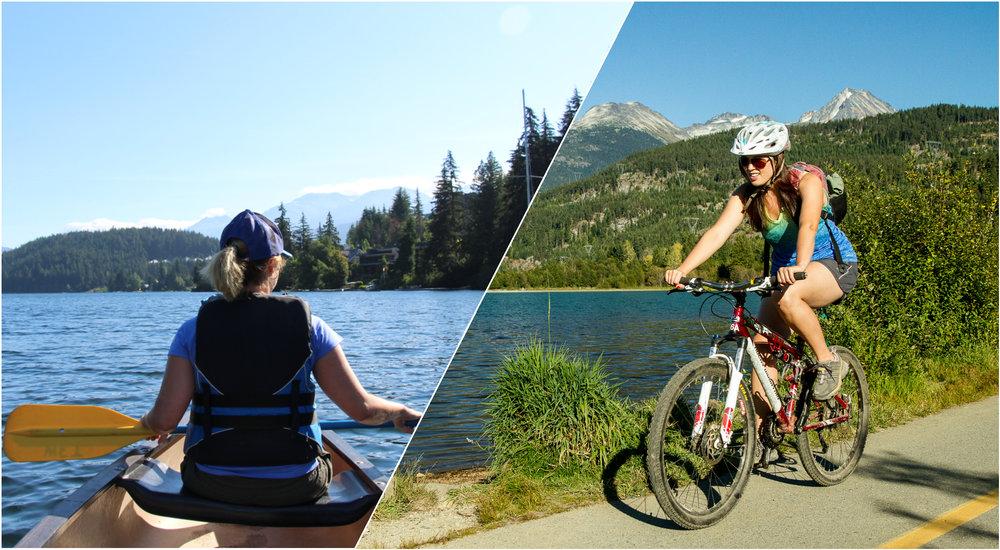 Alta Lake Canoe & Bike Ride