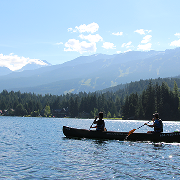 alta-lake-canoeing-whistler