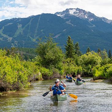 river-of-golden-dreams-canoeing-whistler